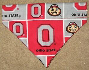 Ohio State Buckeyes Dog Bandana - 5 sizes XS - XL