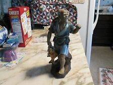 RARE+AMAZING!!Chinese Fisherman Figurine #328>>L@@K