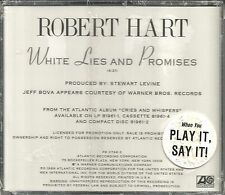 Manfred Mann ROBERT HART White Lies and Promises PROMO CD single 1989 SEALED USA