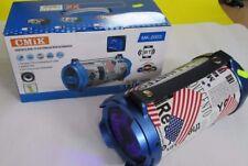 CASSA MEDIA PORTATILE BLUETOOTH POTENTE da SUB WOOFER Bluetooth USB-SD MK-2003