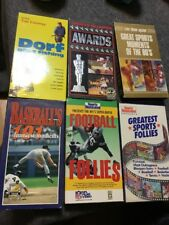 VCR SPORTS TAPE SELECTION: NFL, HOCKEY , PRO BLOOPERS, BASKETBALL FUNNY STUFF