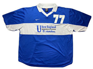 New England Nor'Easters Jersey Mens 2 Extra Large Nike Teams Vintage Baseball