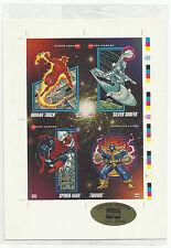 Marvel Universe 3 Uncut Promo Card Sheet
