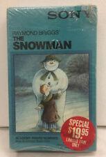 The Snowman 1982 Raymond Briggs Animated Classic Beta Hi-fi