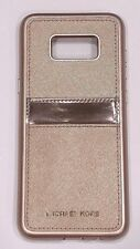 Michael Kors Saffiano Leather Case for Samsung Galaxy S8+ (PLUS) - Rose gold