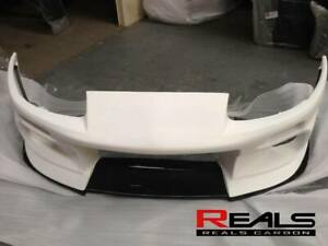 Toyota Supra JZA80 DL Style Hybrid Carbon Fiber Front Bumper