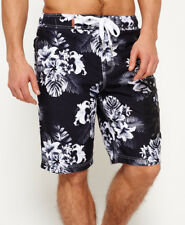 New Mens Superdry Superdry Boardshorts Mono Tropical Aop