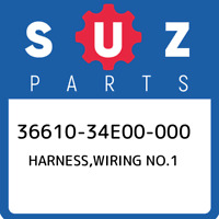 36610-34E00-000 Suzuki Harness,wiring no.1 3661034E00000, New Genuine OEM Part