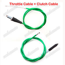 Green Twist Throttle Cable Clutch 50 90 110 125 150 160 cc Chinese Dirt Pit Bike