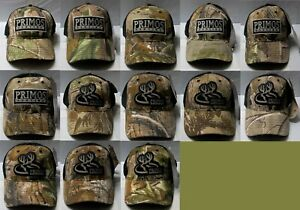 Primos REALTREE Hunting Hat Caps 13 Patterns to Choose From - Adjustable Size