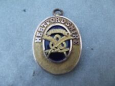 VINTAGE MASONIC JEWEL / MEDAL FOR HERTFORDSHIRE