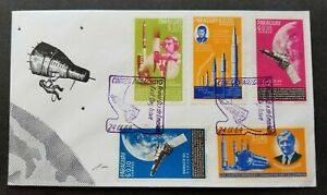 [SJ] Paraguay Space 1964 Rocket Astronomy Science Satellite (stamp FDC)