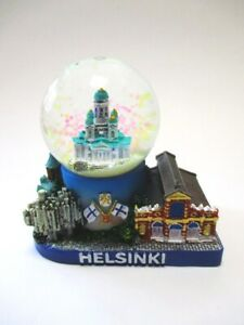 Snow Ball Helsinki Finland Snowglobe Souvenir Uspensky Cathedral