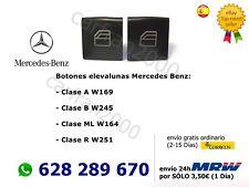2 x Elevalunas Interruptor Teclas Botones Mercedes Clase A Clase B Clase ML, R