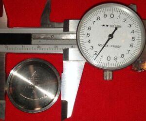 Old vintage OMEGA Wrist Watch case back Cal f300hz LOOK !!