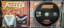 ACCEPT - I'M A REBEL / OBJECTION OVERRULED 2 TITLES IN 1 CD 2001. U.DO.