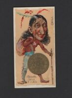 1889 Duke Cigarettes Coins of All Nations N72 CHILI