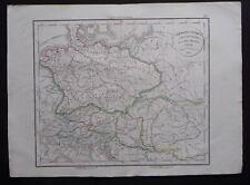 § carte Germania Antiqua - Félix Delamarche 1829