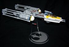acrylic display stand for Lego Rebel Y-wing Fighter Star Wars 75172