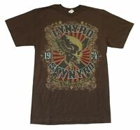 Lynyrd Skynyrd Sweet Home Alabama Brown T Shirt New Official Band Merch Soft