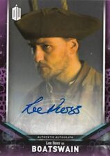 DOCTOR WHO 2018 SIGNATURE SERIES - LEE ROSS (BOATSWAIN) AUTOGRAPH DWA-LR (V1)