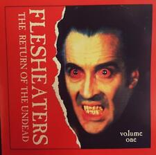 FLESHEATERS CD THE RETURN OF THE UNDEAD VOLUME ONE 1996 DRESSED TO KILL DTKCD023