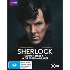 Sherlock Seasons 1 - 4 and The Abominable Bride (2010) DVD