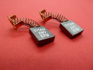 CARBON BRUSHES FOR TITAN TYPE TTB280DRH 1700Watt CONCRETE BREAKER