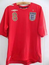 2006 World Cup LAMPARD Umbro England Football Mens Soccer Jersey Shirt Adults L