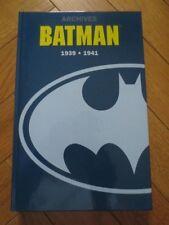 Archives Batman 1939 - 1941 - Bob Kane - semic