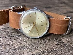 Poljot Watch 1 MchZ 16 Jewels Rare Soviet Watch