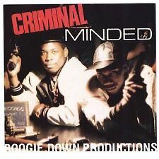 Criminal Minded Boogie Down Productions CD KRS-One Scott La Rock Echo BBCD 4787