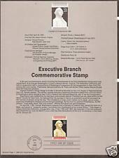 # 2414 EXECUTIVE BRANCH Bicentennial 1989 Souvenir Page