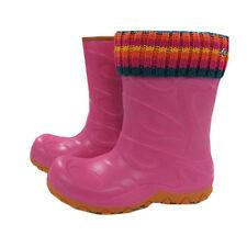 Maximo Gummistiefel Regen Schnee Stiefelsocke Pink Wasserdicht Mädchen Gr.24-35