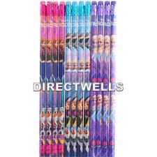 Disney Frozen Authentic Licensed Wood Pencils Goodie bags Filler School Supplies
