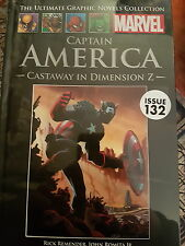 MARVEL GRAPHIC NOVEL CAPTIAN AMERICA CASTAWAY IN DIMENSION Z ISSUE 132 - NEW
