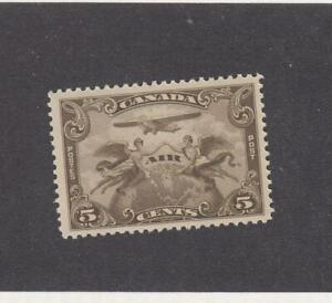 CANADA (MK3978) # C1  VF-MNH  5cts PLANE & 2 WINGED FIGURES W GLOBE CAT VAL $40