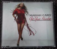 Mariah Carey - GET YOUR NUMBER 4 Track EU Single CD 2005