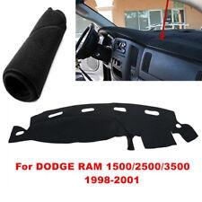 For DODGE RAM 1500 2500 3500 1998-1999 2000 2001 Dashmat Dashboard Mat Cover