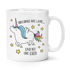 Unicorns Are Lame Said No One Ever 10oz Mug Cup - Funny Poop Rainbows