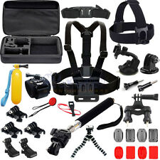 36 in 1 Pole Head Chest Mount Strap GoPro Hero 2 3 4 Camera Accessories Set Kit