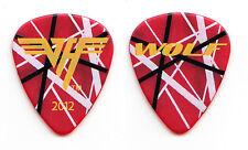 Van Halen Wolfgang Van Halen Red Frankenstrat Guitar Pick - 2012 Tour