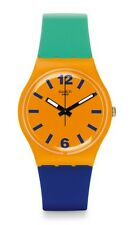 Swatch Watch * GO113 Originals Gent Pangasius Silicone Swiss COD PayPal GDS17