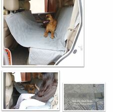 "Pet Dog Cat Car Seat Universal Hammock Cover Fit Car Van Truck SUV 60""L Grey"