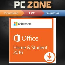 Microsoft Office for Windows PC - Home and Student 2016 - 1 PC lifetime licence