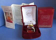 L'air D'or Pure Perfume 3.5 ml 0.125 oz 1/8 oz Box Vintage Gold Mini Lair Dor