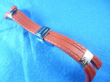 New Old Stock PIRELLI 23MM Rubber Watch Band (Red) For Boy Size