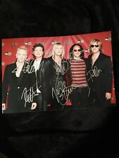 Def Leppard Signed / Autographed Photo 12x8 Fully Signed w/ COA