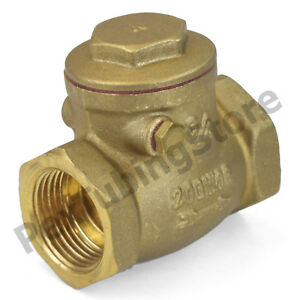 Pack of 2 Valve; shuttle; w//fitting; check valve