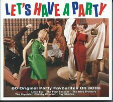 Let's Have A Party - 60 Original Party Favourites (3CD 2015) NEW/SEALED